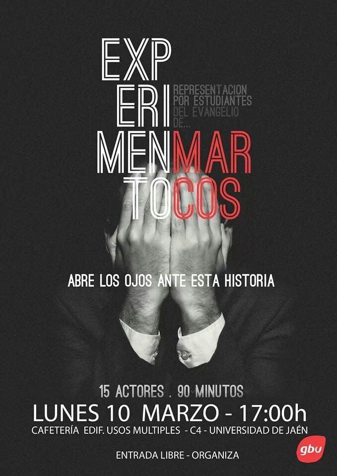 EXPERIMENTO MARCOS GBU JAEN 2014