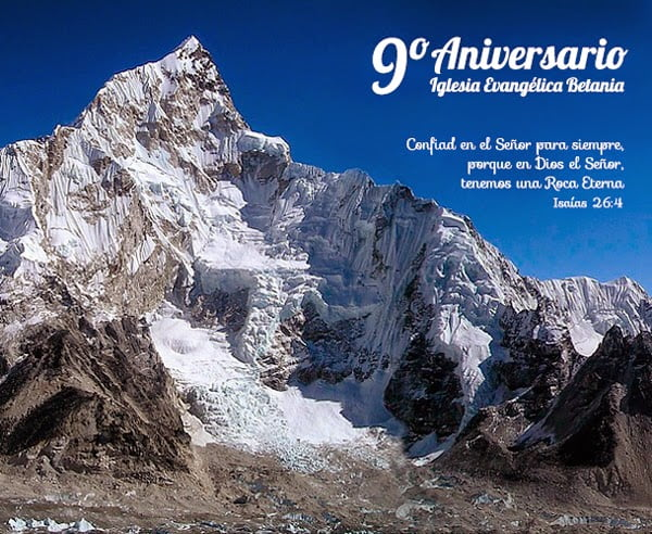 9 aniversario iglesia evangelica betania