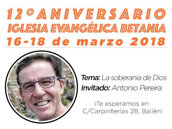 12 Aniversario Betania Antonio Pereira
