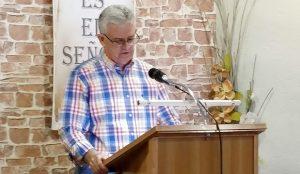 Daniel Benitez predicando en Iglesia Evangélica Betania Bailén 2019